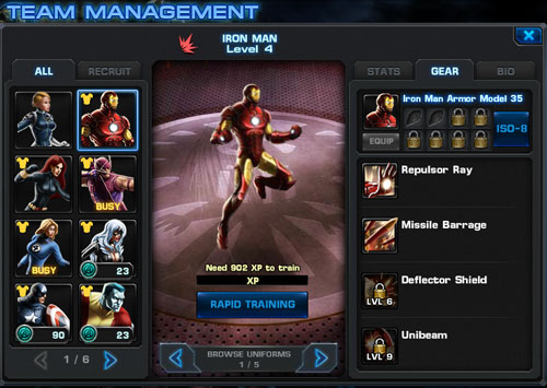 avengers alliance4 Marvel Avengers Alliance Review
